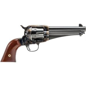 "Cimarron 1875 Outlaw Single Action Revolver .45 Long Colt 5.5"" Barrel 6 Rounds One Piece Walnut Grips Case Hardened Frame Blued CA166"