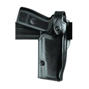 Safariland 6280 SLS Mid-Ride GLOCK 17, 22 with Light Level 2 Retention Duty Holster, Right Hand, STX Basketweave Black