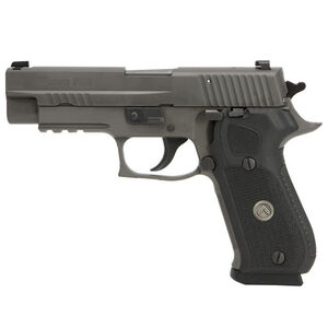 "SIG Sauer P220 Legion Full Size Semi Auto Pistol .45 ACP 4.4"" Barrel 8 Round Magazine SIG Rail X-Ray3 Day/Night Sights G10 Grips Legion Gray Slide/Frame Finish"