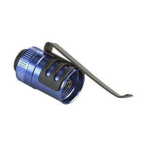 Streamlight Tail-Cap Switch Assembly, Blue, Aluminum, Fits Microstream/Stylus Pro