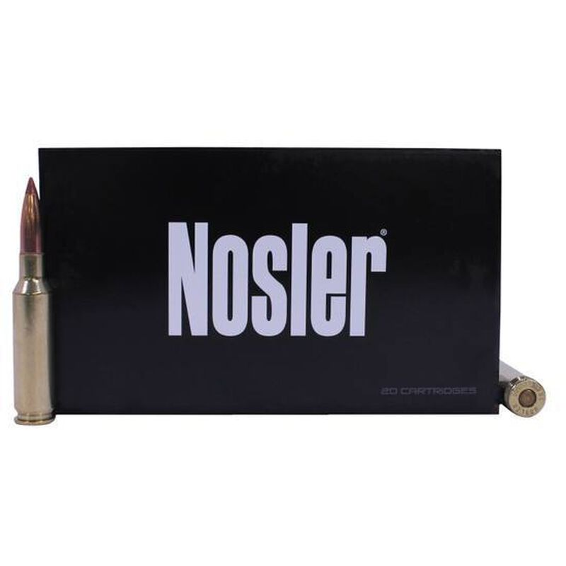 Nosler Ballistic Tip 6.5 Creed Ammunition 20 Rounds 140 Grain BT Bullet 2650 FPS