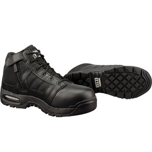 "Original S.W.A.T. Metro Air 5"" SZ Safety Men's Boot Size 9 Regular Non-Marking Sole Leather/Nylon Black 126101-9"