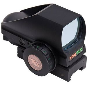 TRUGLO Tru-Brite Open Red Dot Sight Multi Reticle Dot Black Finish TG8380BN