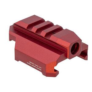 Strike Industries Stock Adapter w/ QD for CZ EVO in Red SI-CEVO-SA-QD-RED