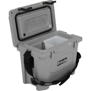 Grizzly Coolers Grizzly 15 16qt Capacity Polymer Gray
