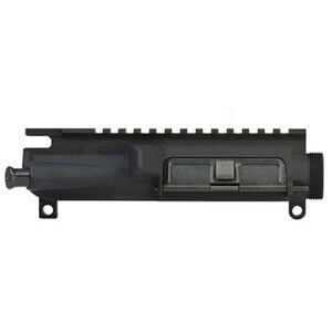 Colt AR-15/M4 Stripped Upper Receiver Dust Cover/Forward Assist/M4 Feed Ramps Flat Top Forged Aluminum Hard Coat Anodized Matte Black