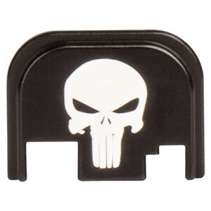 CruxOrd GLOCK Back Plate Punisher Aluminum Black