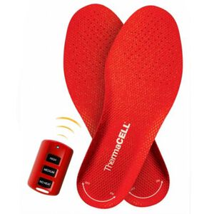 ThermaCELL Heater Insoles Large Rechargeable Batteries Red THS01-L