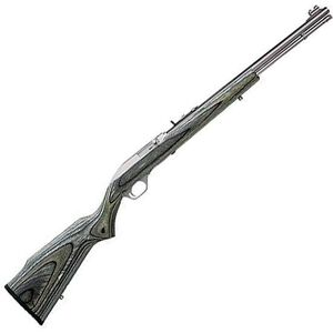 "Marlin Model 60SS Semi Auto Rimfire Rifle .22 LR 19"" Barrel 14 Rounds Black/Grey Laminate Stock Stainless Finish"