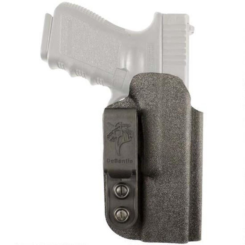 DeSantis Gunhide Slim-Tuk IWB Tuckable Holster SIG Sauer P365 Ambidextrous  Kydex Black