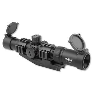 AIM Sports 1.5-4X30 TRI ILL. CQB MIL-DOT JTMR1