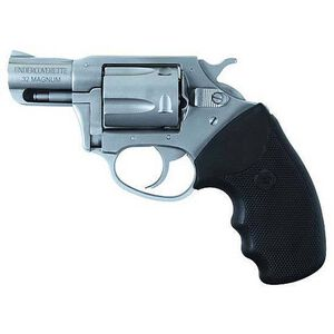 "Charter Arms Undercoverette Revolver .32 H&R Magnum 2"" Barrel 5 Rounds Rubber Grips Stainless Steel Finish"