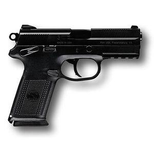 "FN FNX-9 Semi-Automatic Handgun 9mm Luger 4"" Barrel 17 Rounds Polymer Frame Stainless Steel Slide Black Finish 66822"