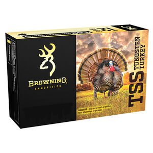 "Browning TSS 20 Gauge Ammunition 3"" #7 Tungsten Shot Non Toxic Lead Free 1-1/2oz 1200 fps"