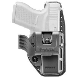 Fobus Appendix Ambidextrous Adjustable Belt Clip Holster for Glock 43
