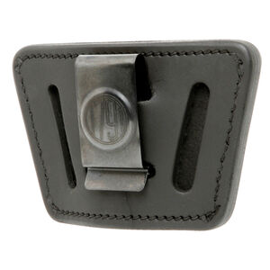 1791 Gunleather Universal IWB/OWB Holster for Medium/Large Frame Semi Auto Pistols Ambidextrous Draw Leather Black
