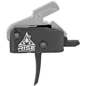 Rise Armament RA-434 High Performance Drop In Trigger For AR-15 With Anti Rotation Pins Black