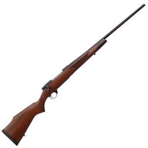 "Weatherby Vanguard Sporter 6.5 Creedmoor Bolt Action Rifle 24"" Barrel 3 Rounds Raised Comb Monte Carlo Turkish Walnut Stock Matte Bead Blasted Blued"