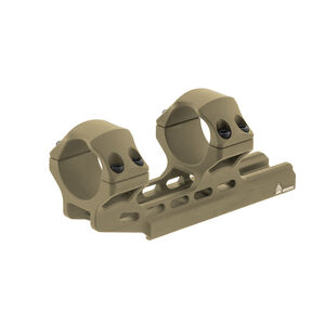 UTG ACCU-SYNC 30mm High Profile 34mm Offset Pic. Rings, FDE