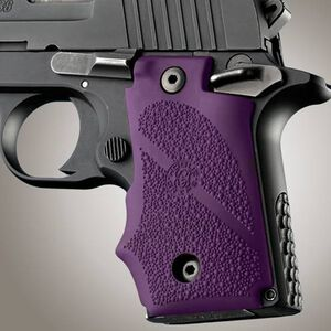 Hogue Grips SIG P238 Cobblestone Rubber Purple 38006