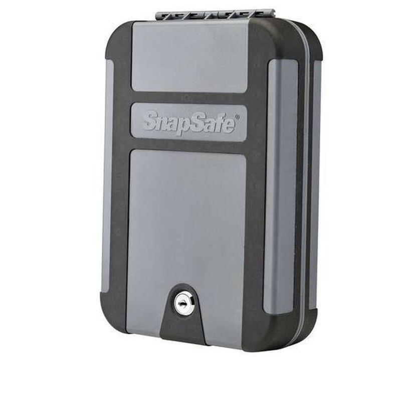 Snapsafe Treklite XL Lock Box Key Lock Polycarbonate Black/Gray 75212