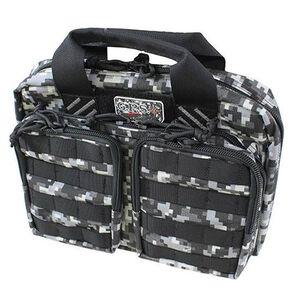 G Outdoors Tactical Quad +2 Pistol Case Gray Digital Camo