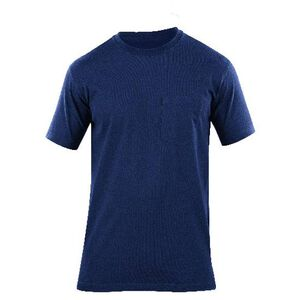 5.11 Tactical Professional Pocket Short Sleeve Cotton T-Shirt Large Fire Navy 71307