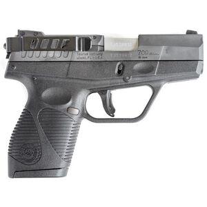 Techna Clip Retention Belt Clip Taurus PT111 G2/709 Slim Ambidextrous Steel Black G2-BA