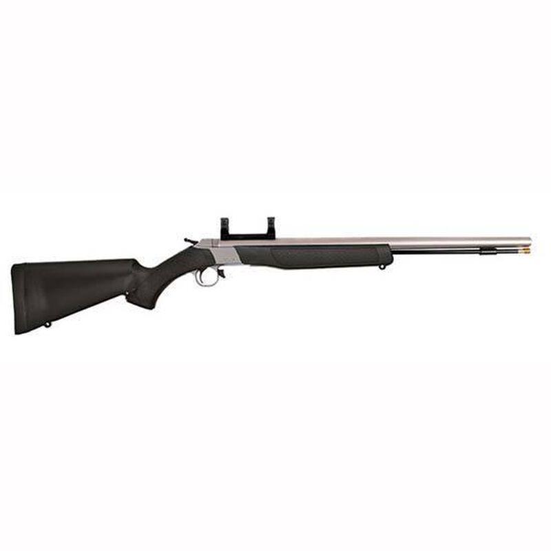 "CVA Wolf Muzzleloader Rifle .50 Caliber 24"" Barrel with Dead On Scope Mount Composite Stock Black Finish PR2110SM"