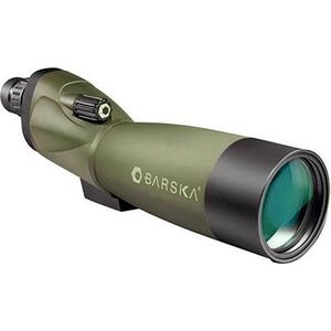 Barska Blackhawk 20-60x60 Spotting Scope Porro Prism Tripod Green Rubber Armor AD10350