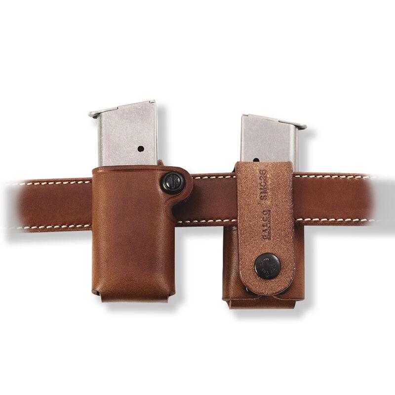 Galco SMC Single Mag Pouch 9mm/.40 Single Stack Tan Leather SMC18