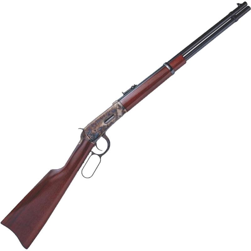 "Cimarron Model 1894 Carbine .38-55 Win Lever Action Rifle 20"" Barrel 5 Rounds Walnut stock Color Case Hardened/Blue Finish"