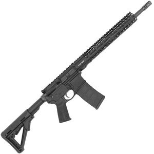 "Stag 15 Tactical Series Right Hand AR-15 Semi Auto Rifle 5.56 NATO 16"" Barrel 30 Rounds 13.5"" M-LOK Slimline Free Float Hand Guard Magpul Stock/Grip Matte Black Finish"