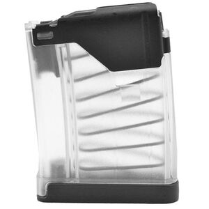 Lancer AR-15 L5 Advanced Warfighter Magazine .223 Rem/5.56 NATO 10 Rounds Polymer Translucent Clear 999-000-2320-22