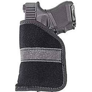 Uncle Mike's Ambidextrous Inside-the-Pocket Holster .380s Size 2 Polymer Suede Black