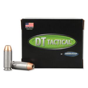 DoubleTap Equalizer 10mm Auto Ammunition 20 Rounds JHP+Ball 230 Grains 410M230EQ20