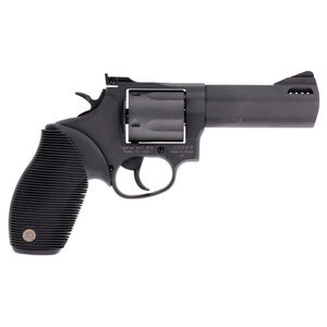 """Taurus Tracker 44 Double Action Revolver .44 Remington Magnum 4"""" Ported Barrel 5 Rounds Fixed Front Sight/Adjustable Rear Sight Ribber Grip Matte Black Finish"""