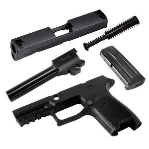 SIG Sauer P320 Compact Caliber X-Change Kit 9mm Luger 15 Rounds 3-Dot Sights Nitron Finish Matte Black