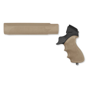 Hogue Tamer Mossberg 500 Pistol Grip/Forened OverMolded FDE 05315