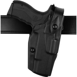 "Safariland 6360 ALS/SLS Level III Mid-Ride Duty Holster Left Hand Fits S&W M&P 9mm / .40 4.25"" Barrel Plain Black"