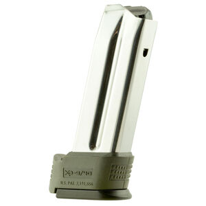 Springfield Armory XD Sub Compact 10 Round Magazine 9mm Luger Stainless Green Sleeve XD0923GS