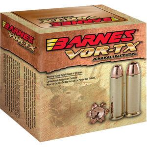 Barnes VOR-TX .44 Rem Mag Ammunition 20 Rounds 225 Grain Lead Free XPB Bullet 1235 fps