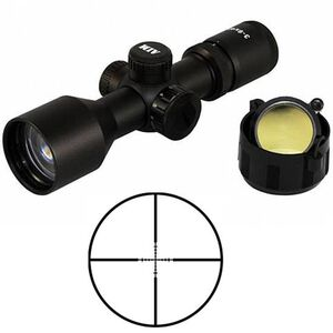 Aim Sports Tactical Compact  3-9x40 Riflescope lluminated P4 Sniper Reticle 1/2 MOA Matte Black JTD3940G