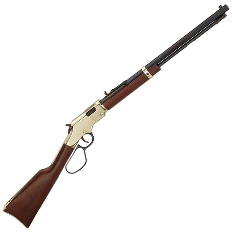 "Henry Repeating Arms Golden Boy Large Loop Lever Action Rifle Rimfire .22 LR/L/S 20"" Octagon Barrel 16 Rounds Semi-Buckhorn Rear Sight Walnut Stock Brasslite Receiver Blued Finish"