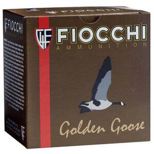 """Fiocchi Golden Goose 12 Gauge Ammunition 25 Rounds 3-1/2"""" #1 Shot 1-5/8oz Steel 1430fps"""