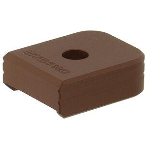 UTG PRO +0 Base Pad, HK VP9/P30 9/40, Matte Bronze Aluminum