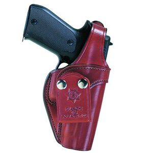 Bianchi Model 3S Pistol Pocket GLOCK 17/22/31/37 Inside the Waistband Holster Right Hand Leather Plain Tan 18010