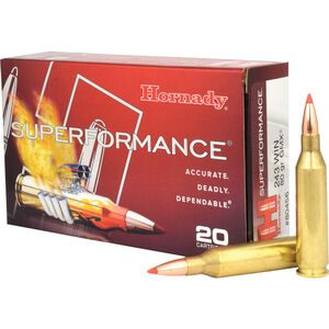 Hornady Superformance .243 Winchester Ammunition 20 Rounds Lead Free GMX 80 Grains 80456