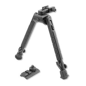 "Leapers UTG Heavy Duty Recon 360 Bipod 8.12"" to 11.97"" Aluminum Black TL-BP03"