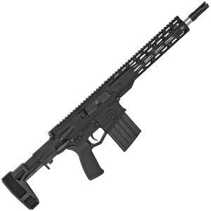 "Radical Firearms .308 Win AR-308 Semi Auto Pistol 12.5"" Barrel 20 Rounds 12"" Free Float M-LOK TMS Handguard Maxim CQB Pistol Brace Black"